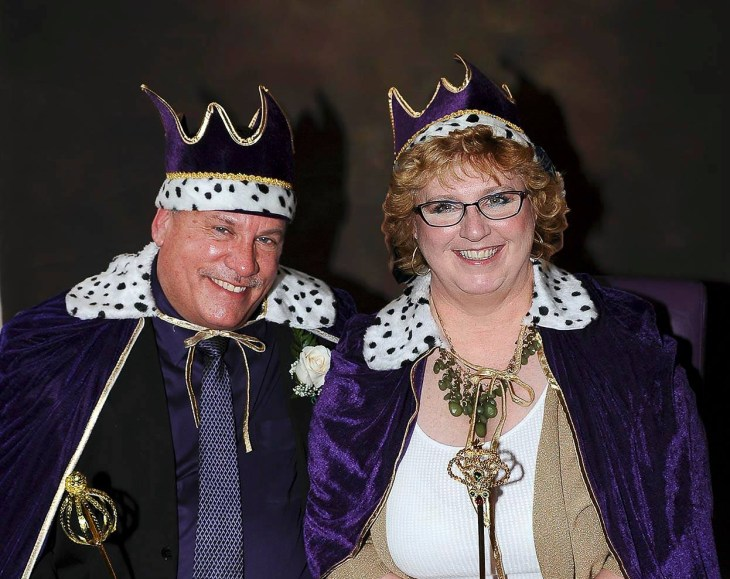 Last year's King and Queen—Rick Ayers, Harford County Department of Emergency Services, and Monica Worrell, Advanced Eye Care—will emcee the crowning ceremony at this year's event.