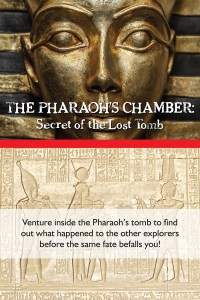 """The Pharaoh's Chamber: Secret of the Lost Tomb"" is one of three themed escape-the-room adventures at Great Escapes Harford. Players have 60 minutes to escape in order to win the game. The business opens this month at 2108 Emmorton Road in Bel Air.  Photos by Stacey Young, SKY Photography"