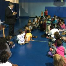 Dutch Ruppersberger Visits Boys & Girls Clubs of Harford County