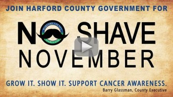 """Harford County Joins """"No Shave November"""" Campaign to Grow Cancer Awareness"""