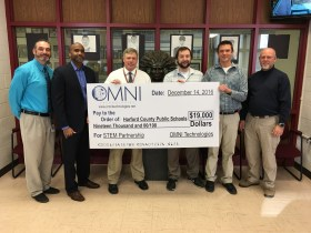 Harford County Public Schools Receives $19,000 Donation from OMNI Technologies, LLC