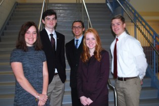 Six Harford County Students Serving in Annapolis as Student Pages