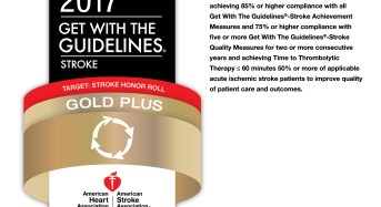 University of Maryland Upper Chesapeake Medical Center Receives Get With The Guidelines-Stroke Gold Plus Quality Achievement Award