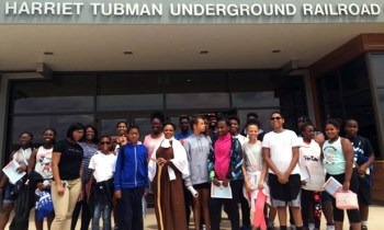 Harford County Youth Tour Harriet Tubman Underground Railroad Visitor Center