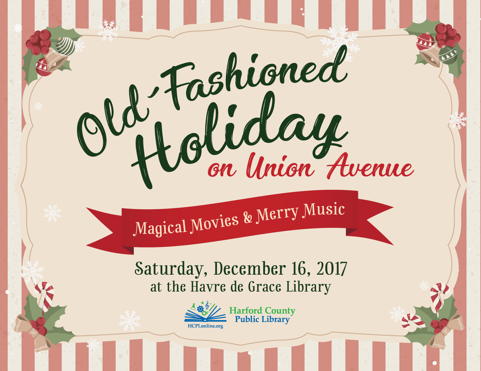 Old-Fashioned Holiday on Union Avenue - Harford County Living