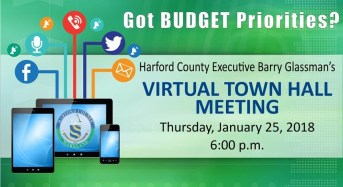 Harford County Executive Glassman Invites Citizen Input on FY19 Budget
