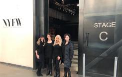 Bel Air Hair Salon Invited to style hair at NEW YORK FASHION WEEK!