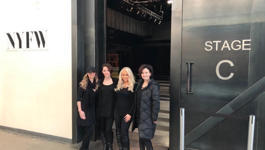 Bel Air Hair Salon Invited to style hair at NEW YORK FASHION WEEK!
