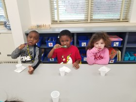Health Department Dental Clinic Partners With Halls Cross Roads Elementary to Encourage Oral Health