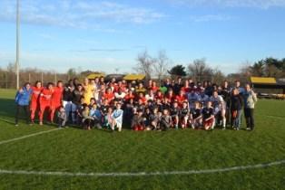 "UMBC vs. University of Delaware at ""Kicks for Chase"""