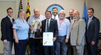 """Harford Transit Bus Driver Dave Hall Steers His Way to First Place in Statewide """"Roadeo"""" Competition"""