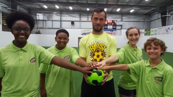 "Baltimore Blast Goalie Vanzela, Saunders Join ""Goals for Grace"" Soccer PK Fundraiser"