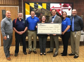 Harford Community College Foundation Receives Funds for Weld Stations at Harford Technical High School