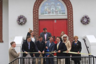 County Executive Helps Cut Ribbon at Baity Building Re-dedication