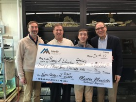 The Natural Resources and Agricultural Sciences Magnet at North Harford High School Awarded $3,000 Grant from Martin Marietta
