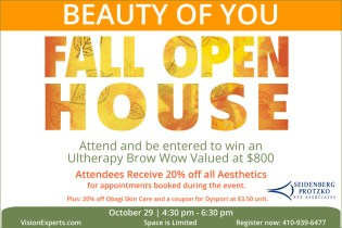 Beauty of You – Fall Open House