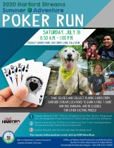 "Deal Yourself In for Harford Streams Summer Adventure ""Poker Run"" July 18"