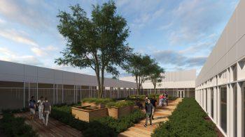 UM Upper Chesapeake Health Marks Beginning of Aberdeen Campus Construction With Flag Raising