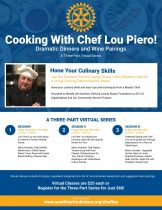 Southern Harford County Rotary Benefit featuring Master Chef Lou Piero