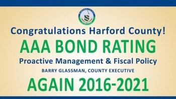 Harford County Retains AAA Bond Rating