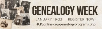 Harford County Public Library Hosts Virtual Genealogy Week January 19-22