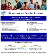 """The SUCCESS Project to Offer Award-Winning """"Strengthening Families Program"""" for Free Beginning in February"""