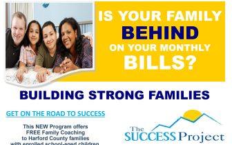 "The SUCCESS Project Teams with Harford County Public Schools to Launch ""Building Strong Families Program"""