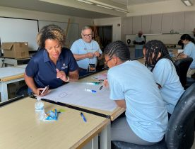 HCC's Third GenCyber Camp for Middle School Students Promotes Cybersecurity as a Future Career Choice for County's Girls