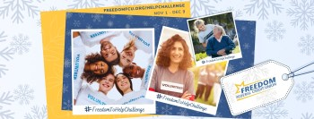 FREEDOM FEDERAL CREDIT UNION TO LAUNCH FOURTH ANNUAL #FREEDOMTOHELPCHALLENGE