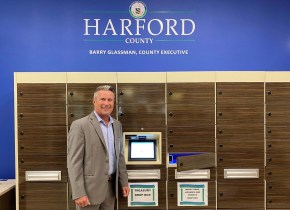 Harford County Government Installs Smart Lockers for Safe, Secure Document Exchanges