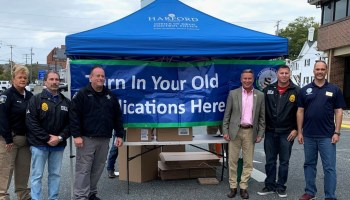 Harford County Collects Nearly 1,700 Pounds of Medicines for National Prescription Drug Take Back Day