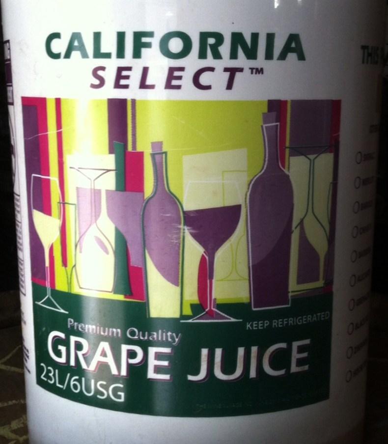 California Juices White Merlot