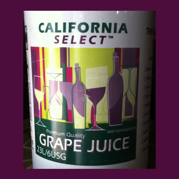 California Juices Sangiovese