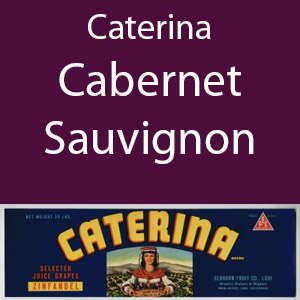 Caterina Cabernet Sauvignon Clement Hills AVA Base of Sierra Foothils