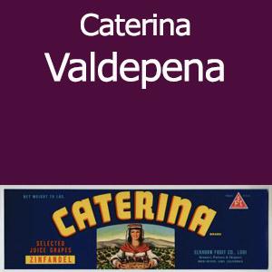 Caterina Valdepena Clement Hills AVA Base of Sierra Foothills