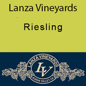 Lanza Vineyards Riesling