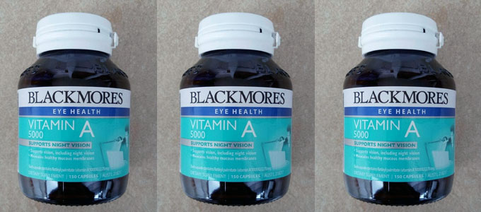 Blackmores Vitamin A 5000 (sumber: shopee.co.id)