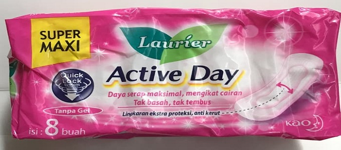 Ilustrasi: Laurier Active Day (credit: Tokopedia)