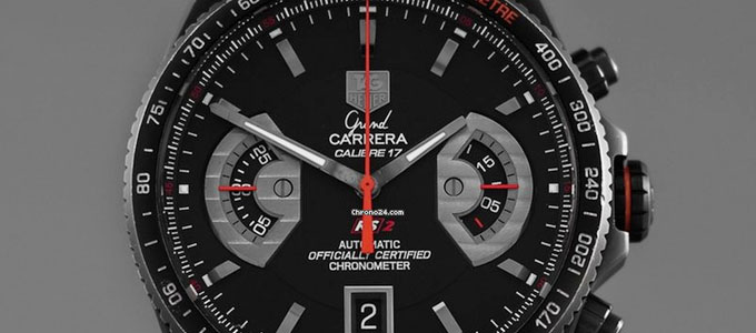 Jam Tangan TAG Heuer Grand Carrera Calibre 17 - www.chrono24.in