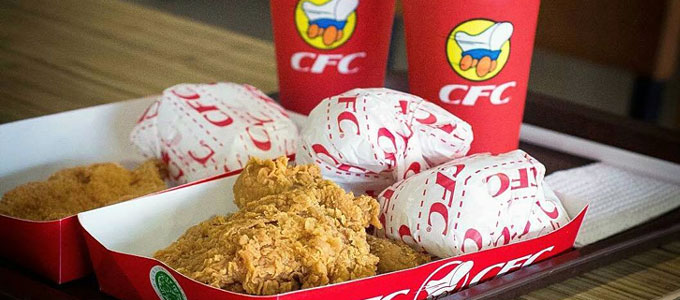 Varian menu California Fried Chicken (sumber: inovasee.com)