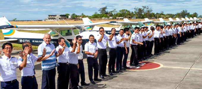 Para pilot Angkasa Aviation Academy Lion Air (sumber: aaa-central.com)