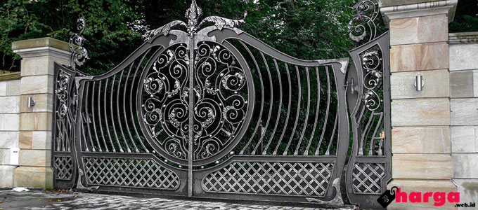 Wrought Iron Gate (Pagar Besi Tempa) - www.jonnylives.com