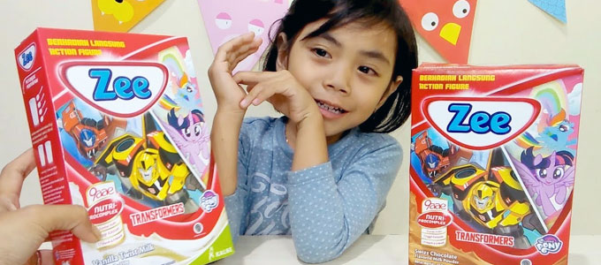 Anak & Susu Zee (youtube: Yaya Kids Station)