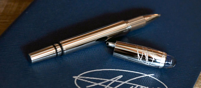 Pulpen Mont Blanc (sumber: collectspace.com)