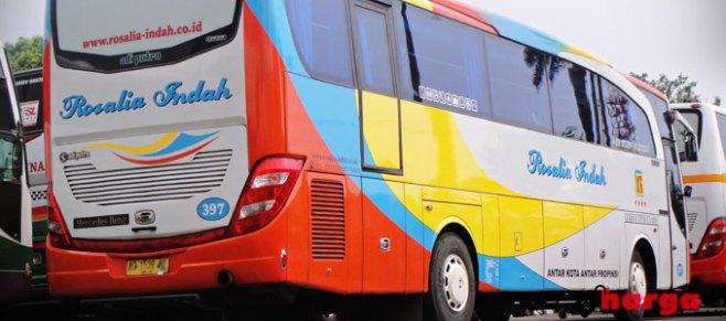 Harga Tiket Bus Rosalia Indah Terbaru Daftar Harga Tarif