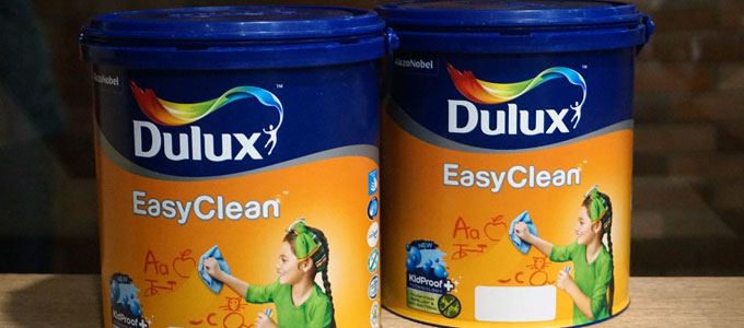 Dulux Easy Clean (sumber: propertyandthecity.com)