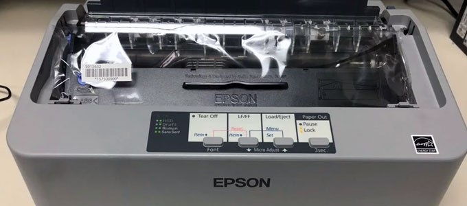 Printer dot matrix Epson LX-310 (sumber: carousell.com)