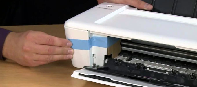 Printer HP Deskjet 1010 (youtube: Vanden Borre)