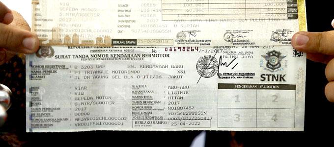 Prosedur & Biaya Ganti Warna Motor di STNK | Daftar Harga ...