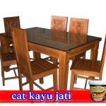 Harga Cat Kayu Jati BioColours Sesuai Finishing Kayu Jati Merah